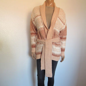 Free People COZY CABIN Reversible Cardigan ~NEW~